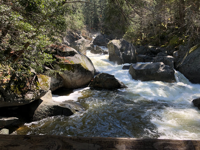 Merced River from the bridge