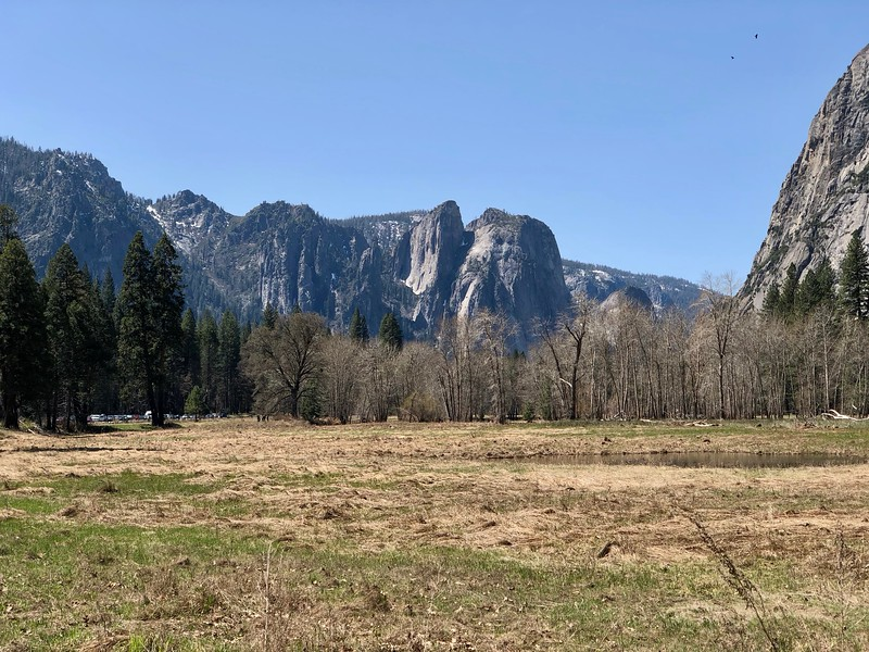 Cathedral Spires from Sentinel Meadow