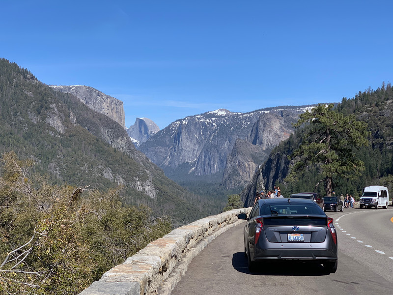First Yosemite Valley View