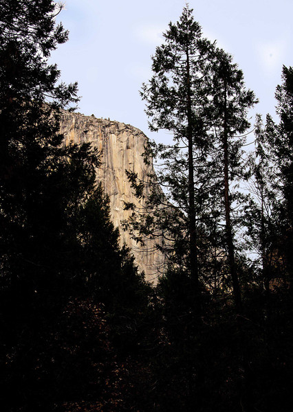 El Capitan from Bridal Veil Falls