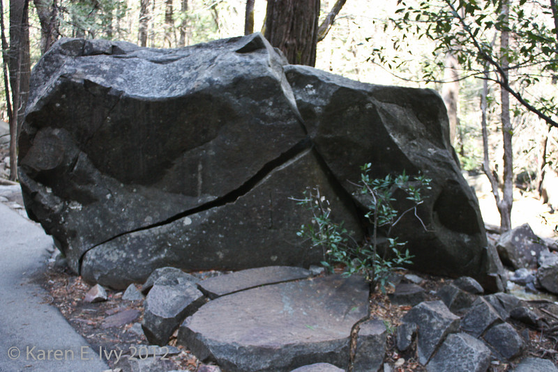 Bridal Veil Falls, pathway