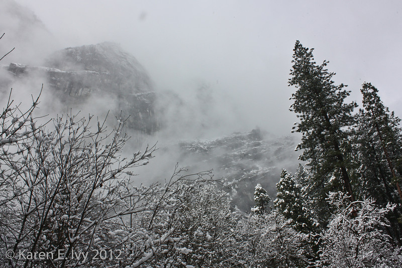 Cliffs above Camp Curry