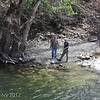 Fishing in the Merced River
