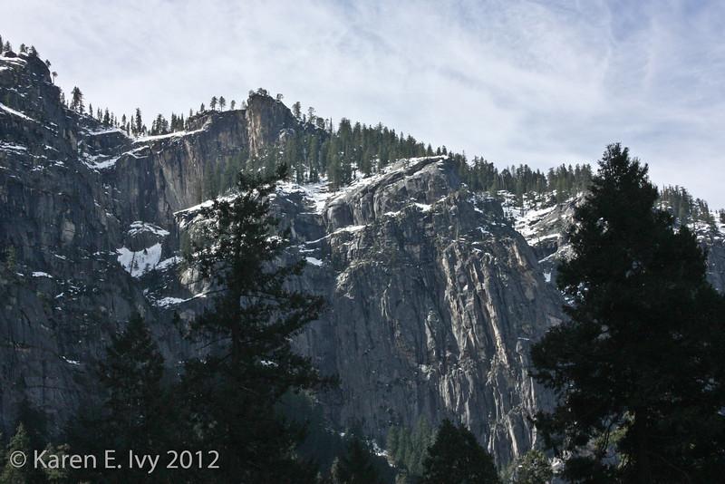 Above Bridal Veil Falls