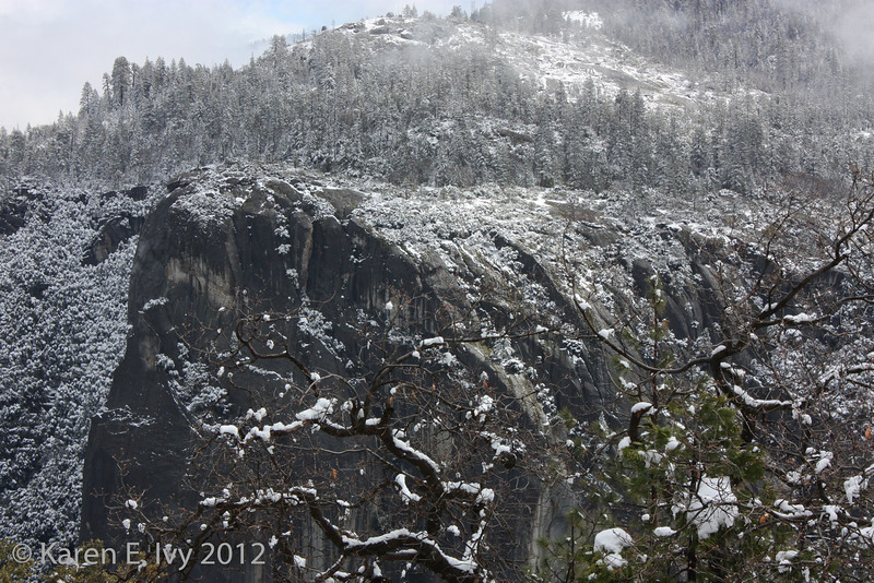 View from Half Dome lookout
