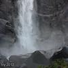 Bridal Veil Falls, bottom of falls