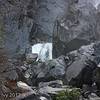 Bridal Veil Falls, extreme bottom of falls