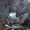 Bridal Veil Falls, extreme bottom of falls