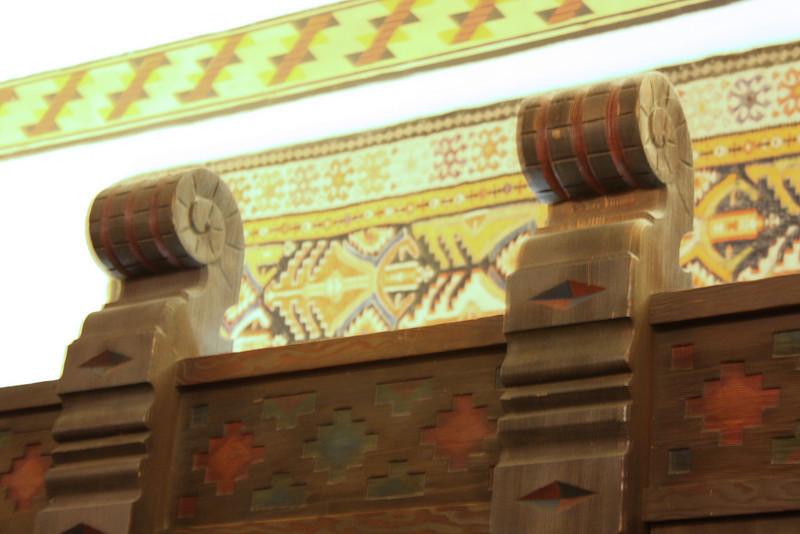 Ahwahnee woodwork