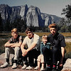 Robert, Peter, Becky and Al in Yosemite, 1962.