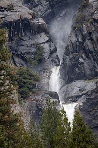 Lower Yosemite Fall from the Lodge