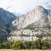 Yosemite fall, dried