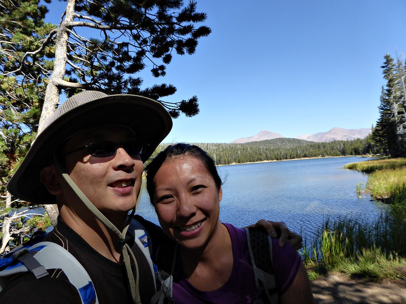 The first day, we did a short hike to Dog Lake and then up Lembert Dome.
