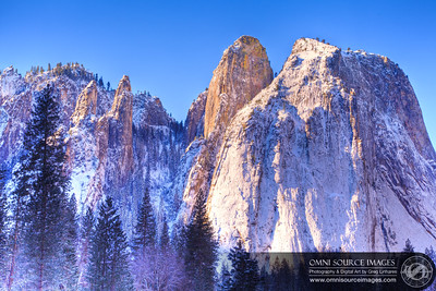 Cathedral Peaks HDR - Yosemite National Park