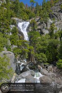 Cascade Creek Falls Yosemite