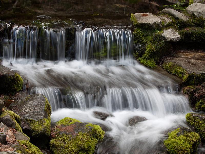 Fern Spring cascade, Yosemite NP CA.