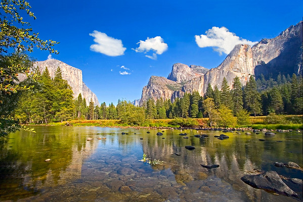 A-Yosemite Valley #A146-T. Cal.