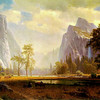 El Capitan and Bridal Veil (Bierstadt,1866).