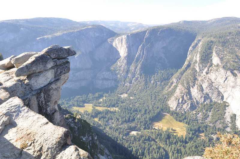 Valley below, Glacier Point, Yosemite National Park, CA