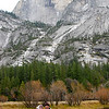 "<span id=""title"">Half Dome Portrait</span> We did this shot so we could wear some stuff from our wedding 1 year before. See next photo..."