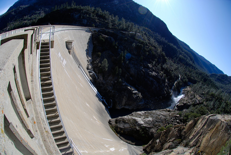 "<span id=""title"">O'Shaughnessy Dam</span> Holds back the Hetch Hetchy reservoir"