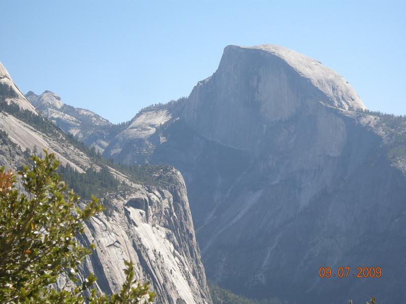 Half Dome View, Upper Falls Trail