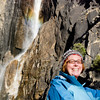 "<span id=""title"">Ann!</span> @ Lower Yosemite Falls"