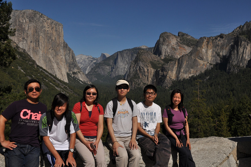 Group Picture, Tunnel View