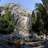 "<span id=""title"">Fisheye Falls</span> Lower Yosemite Falls"