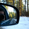 """<span id=""""title"""">Driving</span> On the road back to Yosemite Valley"""