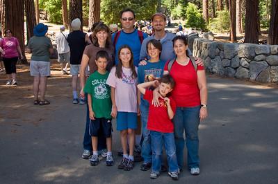 Yosemite and Disneyland 2010