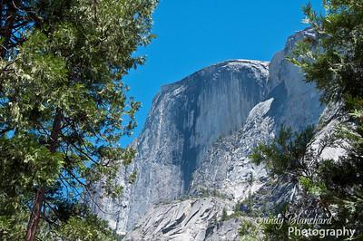 Yosemite and Disneyland 2010 - Half Dome