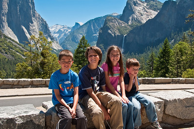 Yosemite 2010 - Kevin, Harris, Katie, and Parker