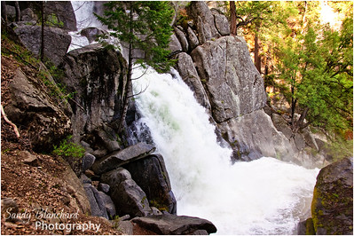 Yosemite 2010 - Waterfall near our cabin.