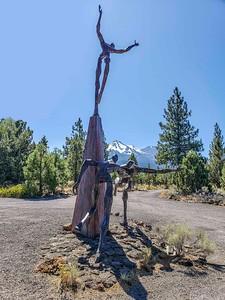 Living Sculpture Garden:  Weed, CA