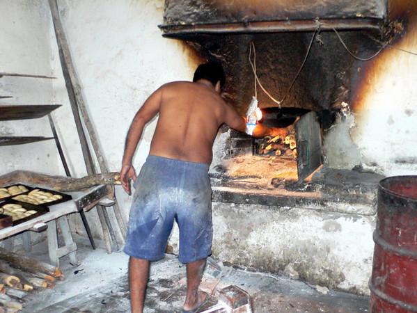 Wood fired bread oven, Iberica