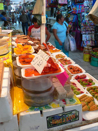 Mercado, sweets