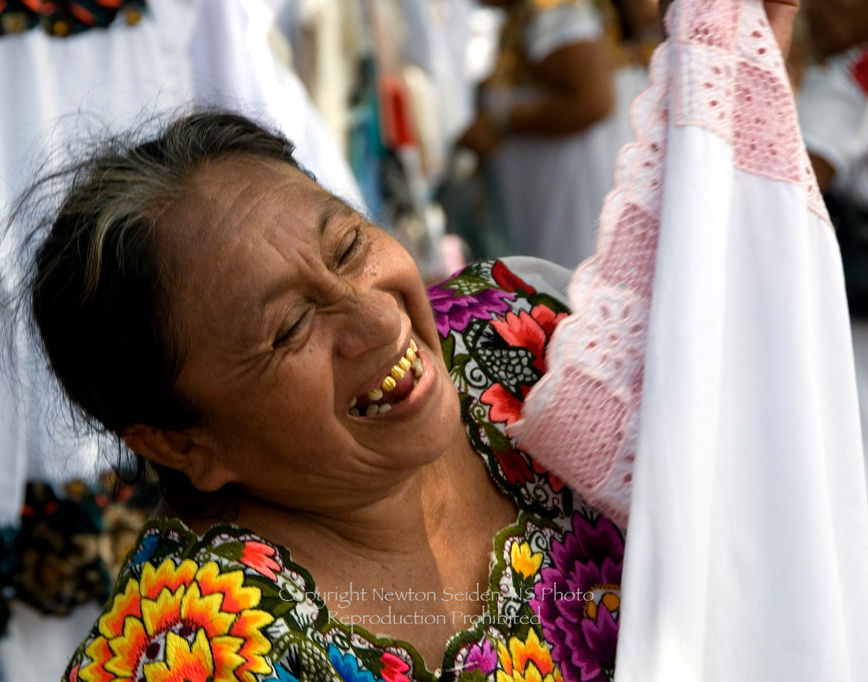 At the Market<br /> Vallaladolid, Mexico