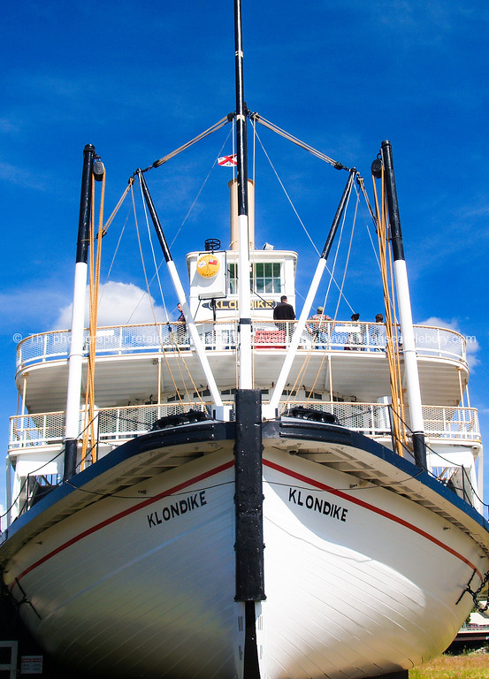"""The Klondike, old riverboat on the Klondike River, Yukon, at Whitehorse, Canada. <br /> SEE ALSO:  <a href=""""http://www.blurb.com/b/893025-north-to-alaska"""">http://www.blurb.com/b/893025-north-to-alaska</a>"""