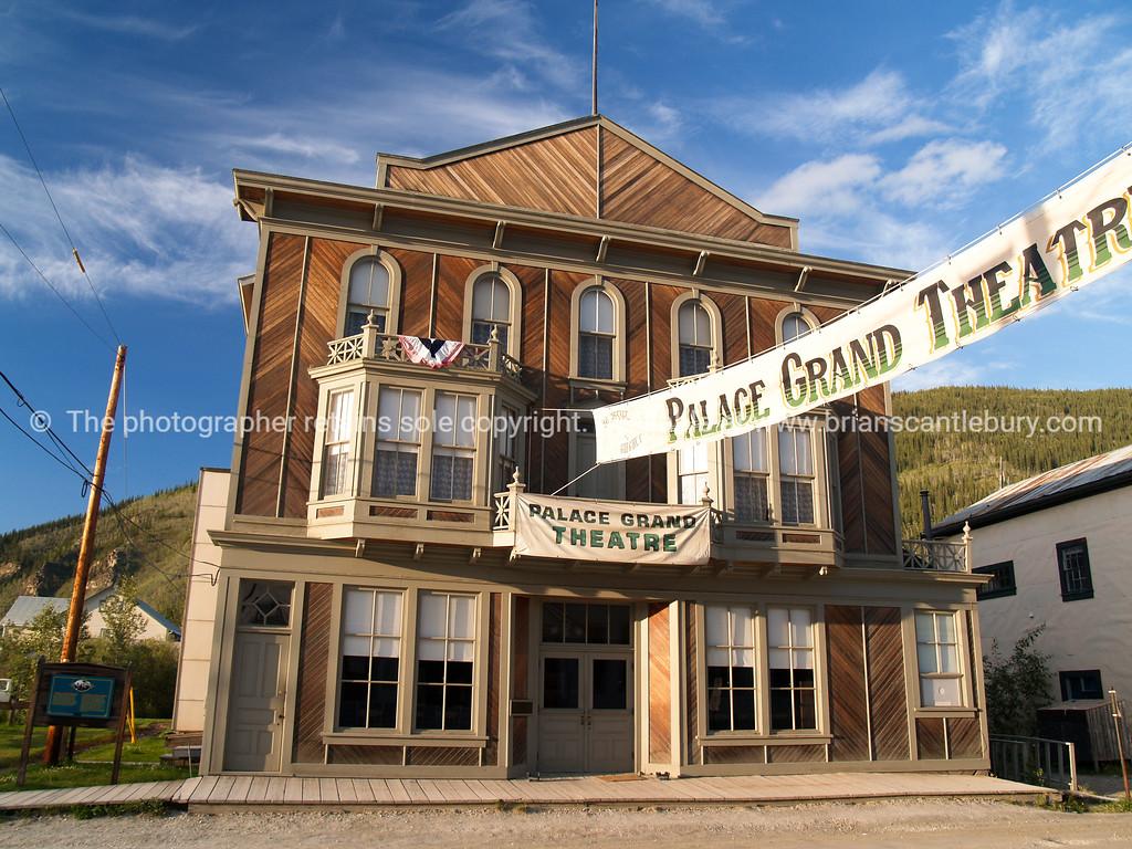 """Palace grand Theatre, Dawson City, Yukon Territory, Canada. <br /> <br /> SEE ALSO:  <a href=""""http://www.blurb.com/b/893025-north-to-alaska"""">http://www.blurb.com/b/893025-north-to-alaska</a>"""