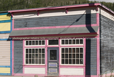 """Vacant shop. Dawson City, a vacant shop in a """"left behind"""" part of town.   SEE ALSO: www.blurb.com/b/893025-north-to-alaska"""