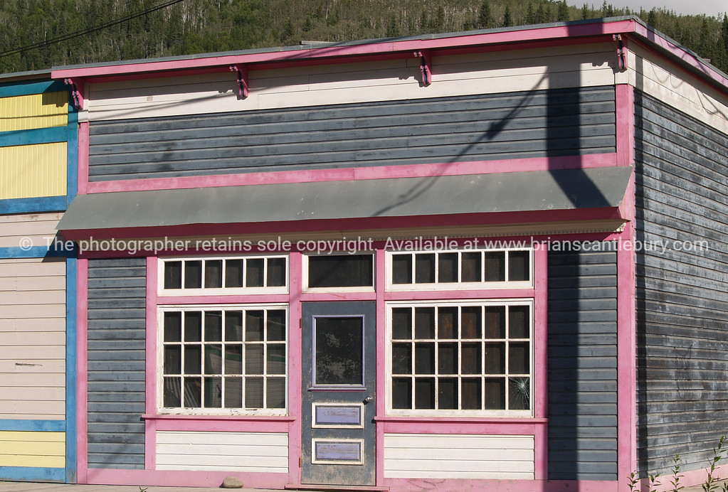 """Vacant shop. Dawson City, a vacant shop in a """"left behind"""" part of town. <br /> <br /> SEE ALSO:  <a href=""""http://www.blurb.com/b/893025-north-to-alaska"""">http://www.blurb.com/b/893025-north-to-alaska</a>"""