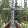 "Graveyard wooden cross., cemetery outside Dawson City. <br /> <br /> SEE ALSO:  <a href=""http://www.blurb.com/b/893025-north-to-alaska"">http://www.blurb.com/b/893025-north-to-alaska</a>"