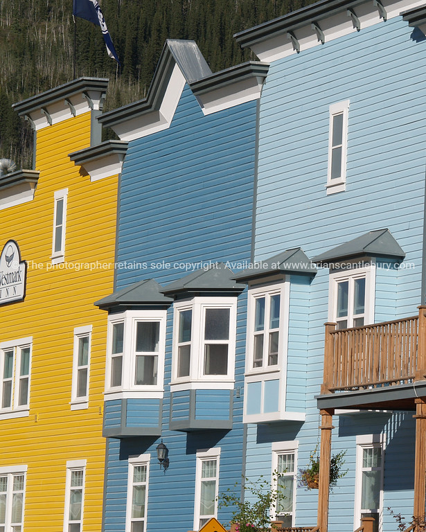 "Hotel facade, timber and traditional architecture in Dawson City, Canada.<br /> <br />  SEE ALSO:  <a href=""http://www.blurb.com/b/893025-north-to-alaska"">http://www.blurb.com/b/893025-north-to-alaska</a>"