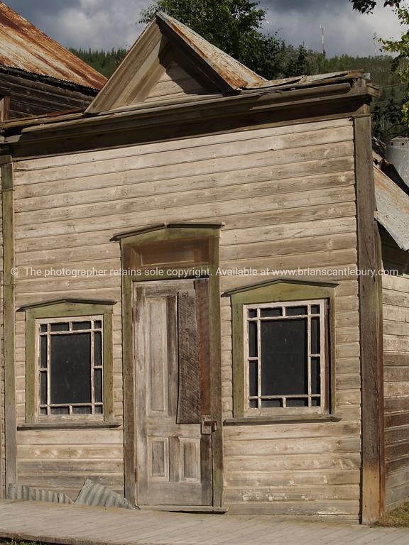 "Empty shop, deserted shop, no longer tenanted or used, Dawson City. <br /> <br /> SEE ALSO:  <a href=""http://www.blurb.com/b/893025-north-to-alaska"">http://www.blurb.com/b/893025-north-to-alaska</a>"