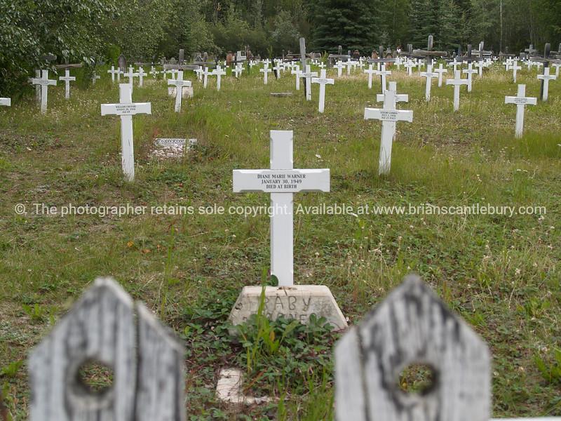 "Crosses, Dawson City. <br /> SEE ALSO:  <a href=""http://www.blurb.com/b/893025-north-to-alaska"">http://www.blurb.com/b/893025-north-to-alaska</a>"