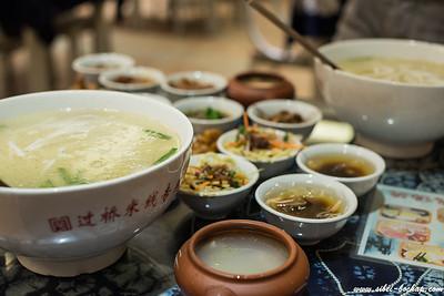 过桥米线, typical yunnan food (personally, interesting but not great)