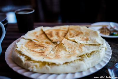 Naxi roti prata / pizza