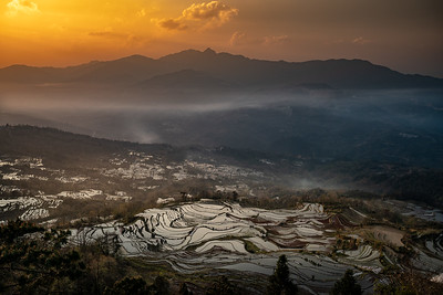 Yunnan, Chinese Tour with Mr. Maa,  YuanYang Rice Terraces,