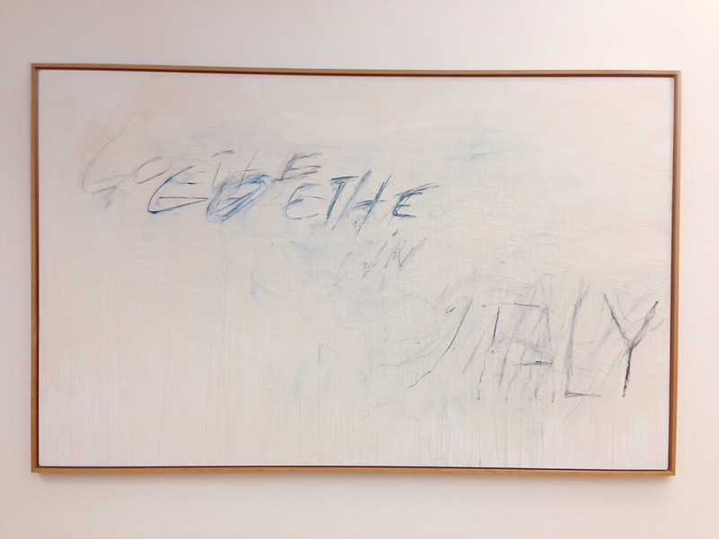 Cy Twombly: Goethe in Italy